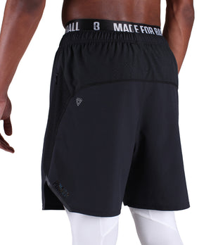 DRYV Training Shorts - Black - Back