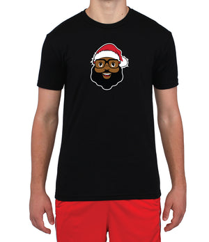 Black Santa Player T-Shirt (Limited Holiday Release)
