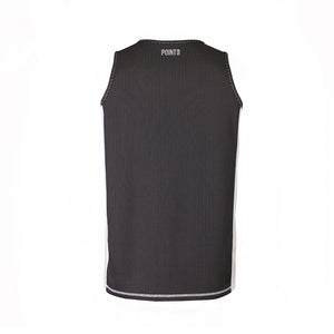 Dual Threat Reversible Jersey - Black/White Back