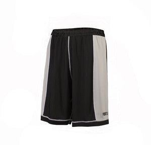 Youth Dual Threat Single Layer Reversible Shorts - Black/White