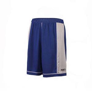 Dual Threat Single Layer Reversible Shorts - Royal/White