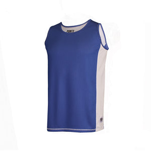 Dual Threat Single Layer Reversible Jersey - Blue Front
