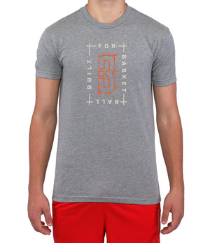 Built For Basketball T-Shirt - Grey