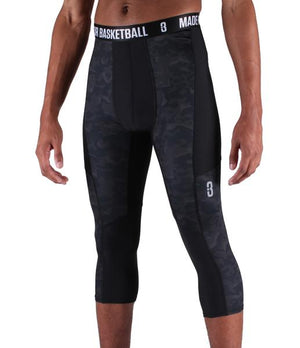 Youth Triple Threat 3/4 Compression Tights
