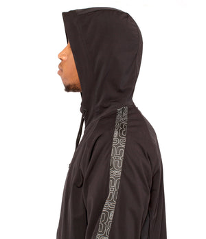 DRYV EDG3 Travel Jacket - Black - Hood