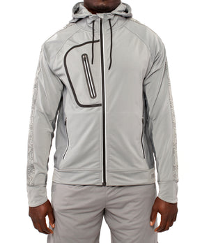 Youth DRYV EDG3 Travel Jacket - Grey - Front