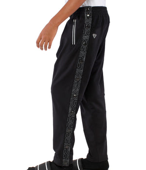 Youth DRYV EDG3 Tearaway Pants - Black - Side