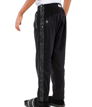 Youth DRYV EDG3 Tearaway Pants - Black - Back