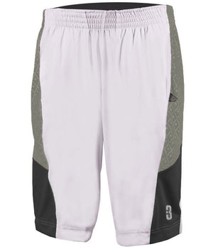 YOUTH DRYV® UNIFORM SHORTS White/Grey