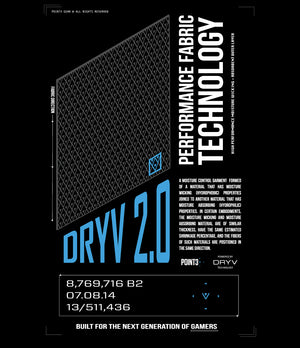 DRYV 2.0 Tech Spec Graphic T