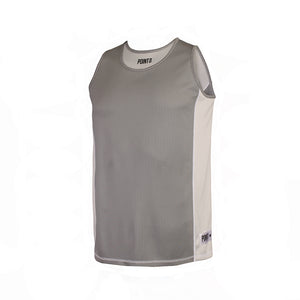 Dual Threat Single Layer Reversible Jersey - Grey Front