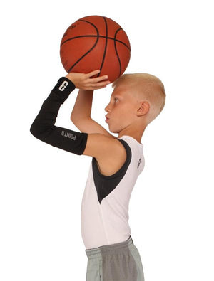 Youth Shooter LT Shooting Sleeve - Black - Action