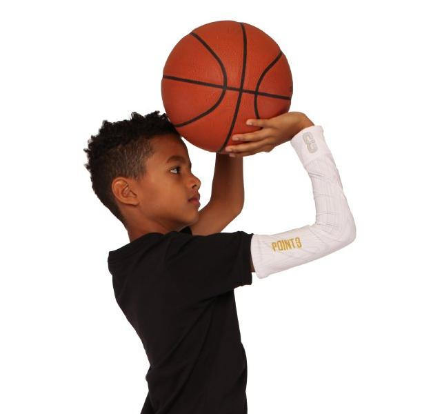 Youth The Chip White Wood Shooter Lt Youth Lightweight Compression