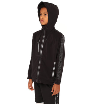 Youth DRYV EDG3 Travel Jacket - Black - Side Angle