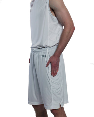 Youth Elevate Shorts - Triple Grey Side