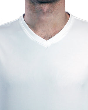 Elevate Jersey - Triple White Front Neck Line