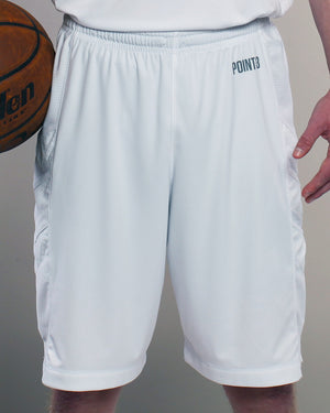 Youth Elevate Shorts - Triple White