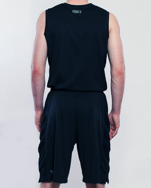 Youth Elevate Jersey - Triple Black Back