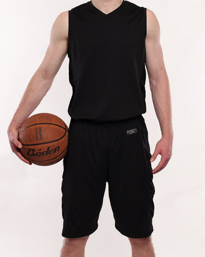 Youth Elevate Jersey - Triple Black
