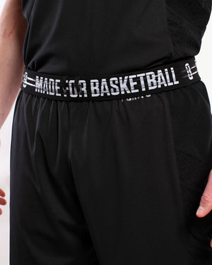 Elevate Shorts - Triple Black Flipped Waistband