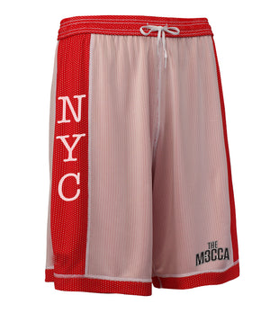 Youth NYC - The Mecca Dual Threat 2.0 Single Layer Reversible Shorts