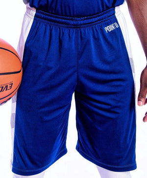 Elevate Shorts - Navy/White