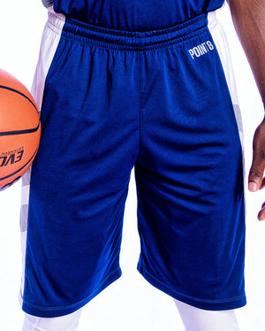 Youth Elevate Shorts - Navy/White