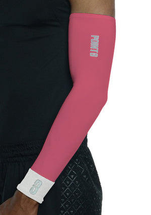 Shooter LT Unisex Lightweight Compression Shooting Sleeve - Pink/White