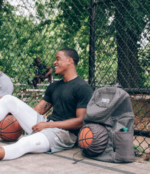 Road Trip 2.0 Basketball Backpack - Grey - Courtside