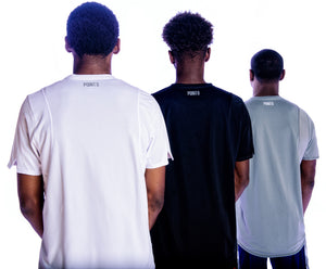 Hustle S/S Performance Top - All 3 colors Back