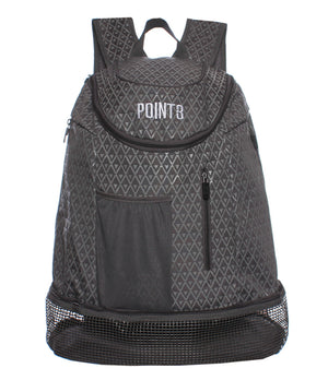 Road Trip Basketball Back Pack - Grey