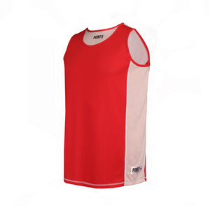 Dual Threat Single Layer Reversible Jersey - Red Front