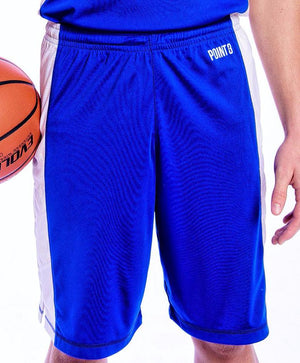 Elevate Shorts - Royal/White