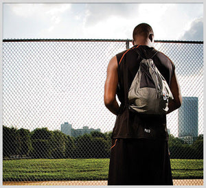 SAK LT - Lightweight Basketball Gear Bag Grey - pondering upon greatness