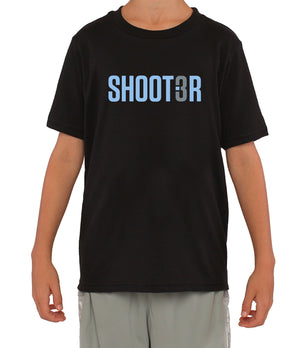 Youth Shoot3r T-Shirt - Black