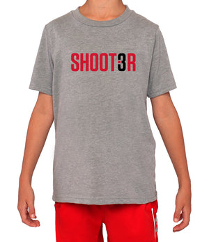 Youth Shoot3r T-Shirt - Grey