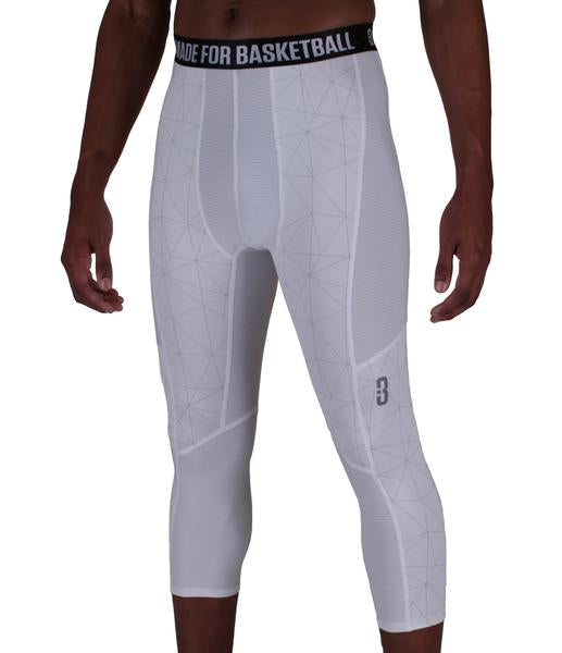 dd23adbed43869 Youth Triple Threat 3/4 Compression Tights - POINT 3 Basketball