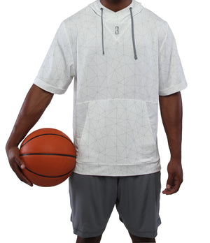 Youth Versa S/S Hooded Warm-Up Top