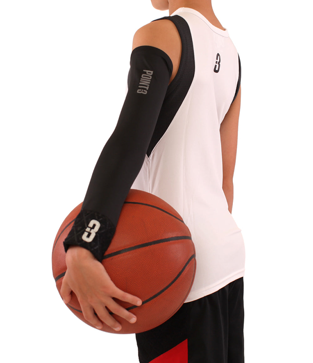 Youth Shooter Lt Lightweight Compression Shooting Sleeve Point 3
