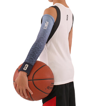 Youth Faded/Blue Ombre Shooter LT Lightweight Compression Shooting Sleeve