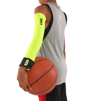 Youth Shooter LT Lightweight Compression Shooting Sleeve - Green/Black