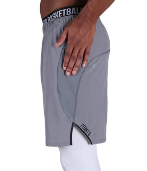 DRYV Training Shorts - Grey - Hand Wipe