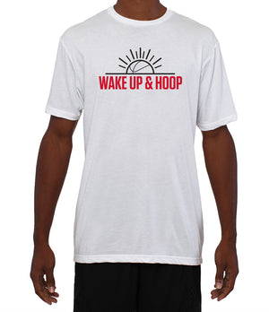 Wake Up & Hoop T-Shirt - White