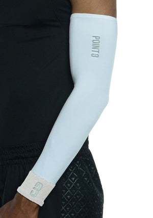 Shooter LT Unisex Lightweight Compression Shooting Sleeve - White