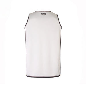 Dual Threat Reversible Jersey - Black White Reverse Back