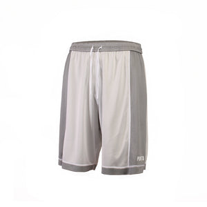 Dual Threat Single Layer Reversible Shorts - Grey/White Reverse