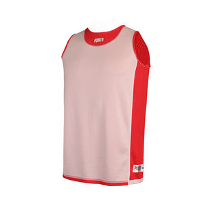 Dual Threat Single Layer Reversible Jersey - Red Reverse