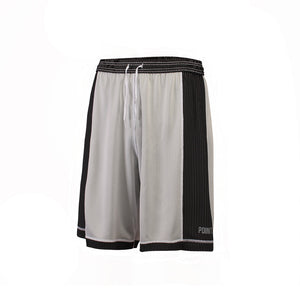 Youth Dual Threat Single Layer Reversible Shorts - Black/White Reverse