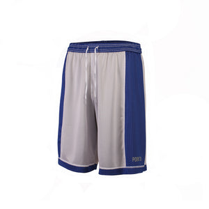 Youth Dual Threat Single Layer Reversible Shorts - Royal/White Reverse