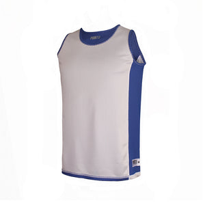 Dual Threat Single Layer Reversible Jersey - Blue Reverse